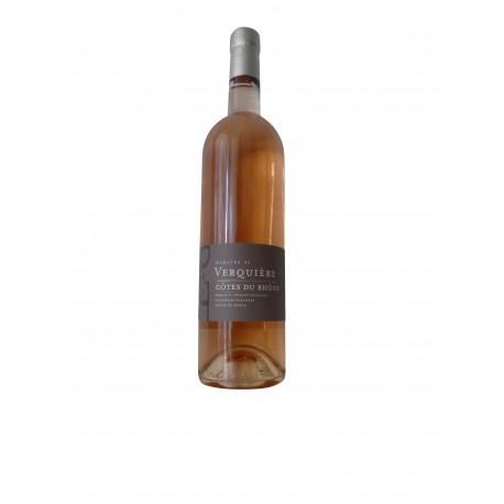 Côtes-du-Rhône rosé  2020 Domaine de Verquière